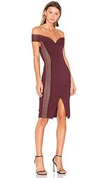 Облегающее платье с открытыми плечами - NICHOLAS