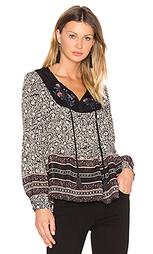 Цветочная блуза с длинным рукавом - STELLA FOREST