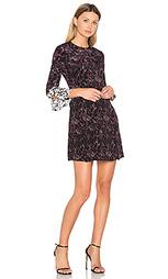 Мини платье с рукавами колокол и отделкой пуговицами - DEREK LAM 10 CROSBY