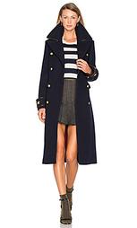 Длинное пальто в стиле милитари - Hilfiger Collection
