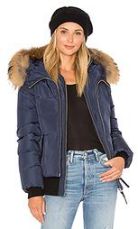 Куртка с отделкой из меха азиатского енота romane - Mackage