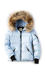 Куртка с мехом из азиатского енота blake - SAM.
