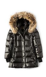 Куртка с мехом из азиатского енота millennium - SAM.