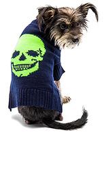 Свитер для собаки с рисунком череп - 360 Sweater