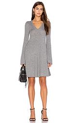 Расклешенное вязаное платье - BCBGMAXAZRIA