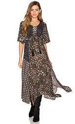 Платье с цветочной мозаикой - Ella Moss