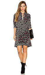 Платье с леопардовым принтом clean lucida - Equipment