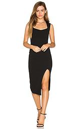 Миди платье с квадратным вырезом captivate - Nookie
