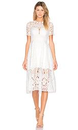 Плиссированное миди платье harmony - Lover