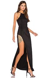 Макси-платье холтер between the lines - Lumier