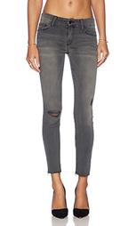 Узкие джинсы looker ankle fray - MOTHER