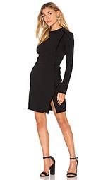 Платье с длинным рукавом и отделкой бахромой - IKKS Paris