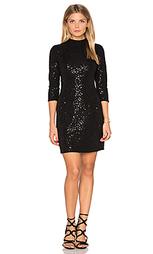 Украшенное мини платье с длинным рукавом - Hoss Intropia
