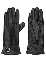 Кожаные перчатки - IKKS Paris