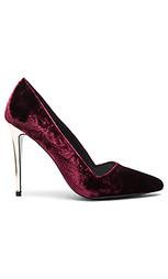 Вельветовые туфли на каблуке dina - Alice + Olivia
