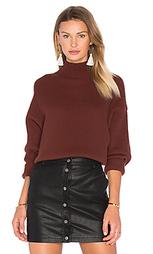 Свободный свитер с ложным воротником - Autumn Cashmere