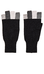 Multi fingerless glove - Autumn Cashmere
