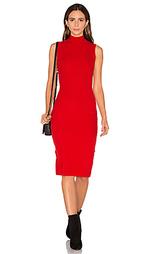 Вязаное платье с воротником водолазка the sleeveless - GETTINGBACKTOSQUAREONE