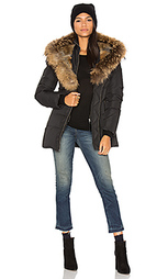 Akiva asiatic raccoon fur and rabbit fur coat - Mackage