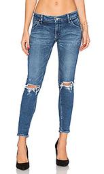 Состаренные облегающие джинсы - Regalect