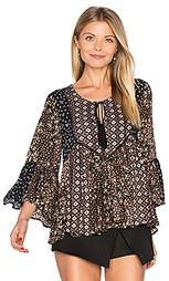 Patchwork floral blouse - Ella Moss