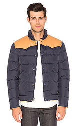 Pelam leather yoke down jacket - Penfield