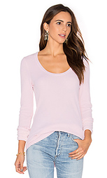 Nordic thermal long sleeve scoop tee - Splendid