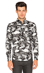 Regular shirt sumi ink tigers - Naked & Famous Denim