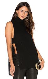 Shaker stitch apron sleeveless sweater - Autumn Cashmere