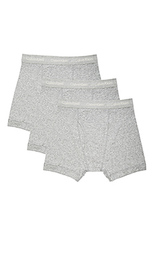 Набор из 3 классических хлопковых трусов-боксеров - Calvin Klein Underwear