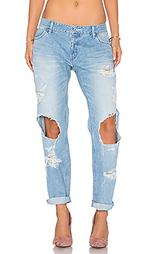 Потертые джинсы в мужском стиле - Regalect