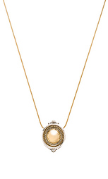 Scutum pendent necklace - House of Harlow 1960