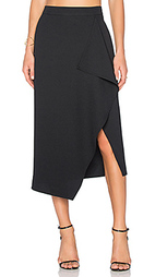 Asymmetric drape skirt - KENDALL + KYLIE