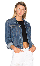 Bianca denim trucker jacket - GRLFRND