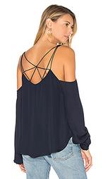 Блуза с открытыми плечами crossroads - Haute Hippie