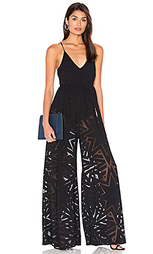 Compass burn out wide leg jumpsuit - Mara Hoffman