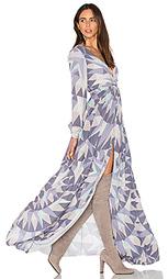 Платье-макси с длинным рукавом compass - Mara Hoffman