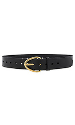 Perry perforated belt - Linea Pelle