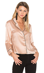 V neck button up blouse - Hoss Intropia