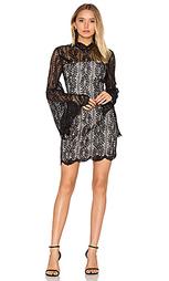 Кружевное платье с длинными рукавами uptown - keepsake