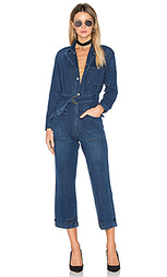 Abbey denim flight suit - GRLFRND