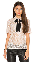 Lace tie neck top - The Kooples
