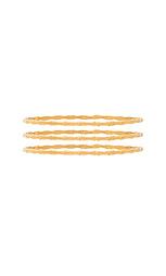Набор браслетов bamboo - Natalie B Jewelry