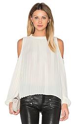 Блуза с плиссировкой - BLAQUE LABEL