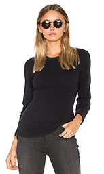 Brushed jersey long sleeve tee - James Perse