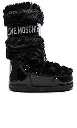 Сапоги для снега - Love Moschino
