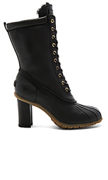 Havea tall heels with shearling lining - Australia Luxe Collective