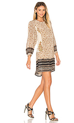 Crew neck long sleeve mini dress - STELLA FOREST
