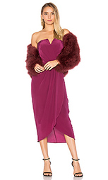 Платье миди glamour night - Yumi Kim