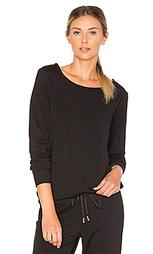 Cozy fleece bow pullover - Beyond Yoga